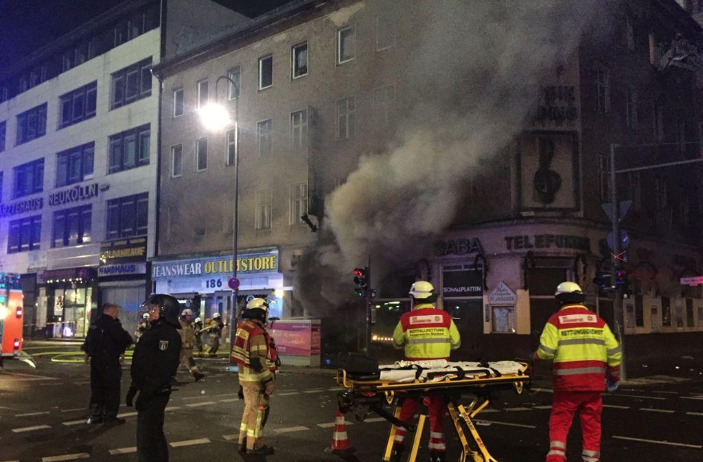 So wie dieses Lokal, brannte auch jenes von Herrn E. völlig aus. Foto: dpa