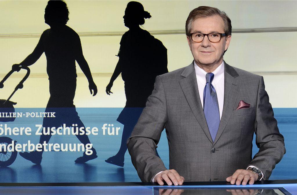 Jan Hofer musste die Moderation der Tagesthemen aus gesundheitlichen Gründen abbrechen. Foto: dpa/NDR Presse und Information