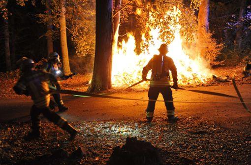 Brandserie greift auf Stuttgart über