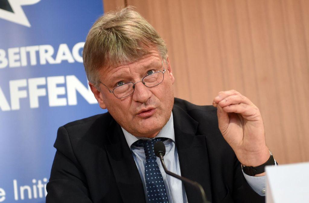 AfD-Fraktionschef Jörg Meuthen will die Gelder für die NS-Gedenkstätte Gurs sparen. Foto: dpa