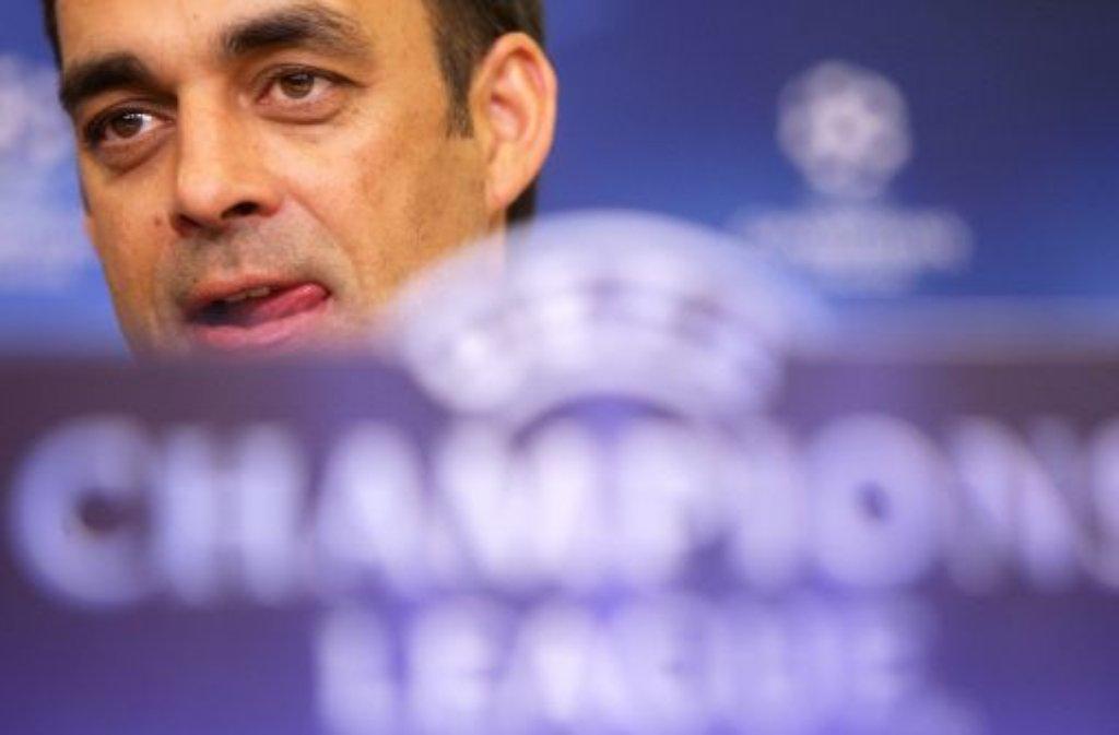Robin Dutt, Trainer von Bayer Leverkusen Foto: dpa