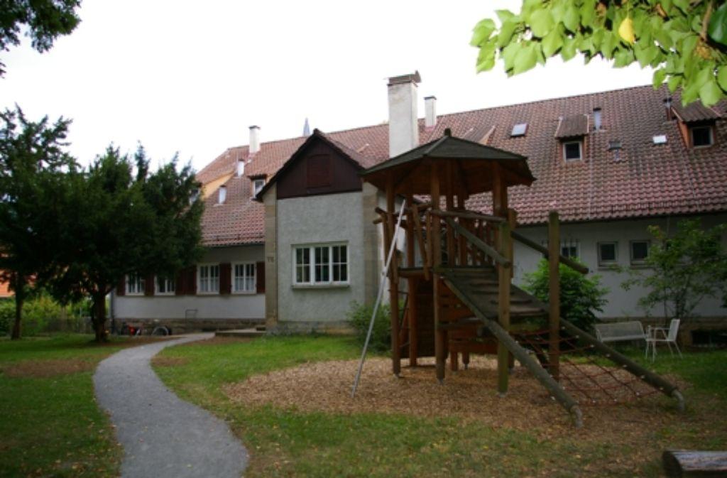 Die Kindertagesstätte an der Vaihinger Straße wird renoviert. Foto: Alexandra Kratz