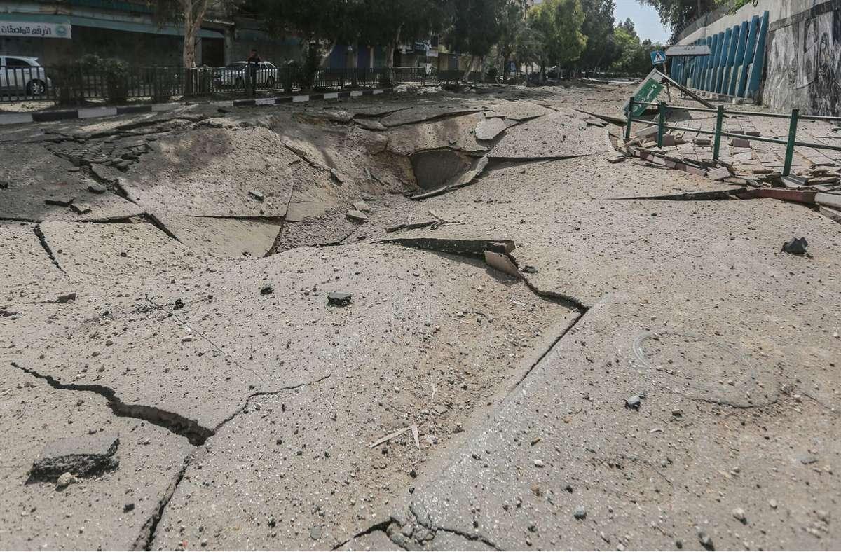 Bei gezielten Angriffen im Gazastreifen sind nach Angaben der israelischen Arme hochrangige Vertreter der Hamas getötet worden. Foto: dpa/Mohammed Talatene