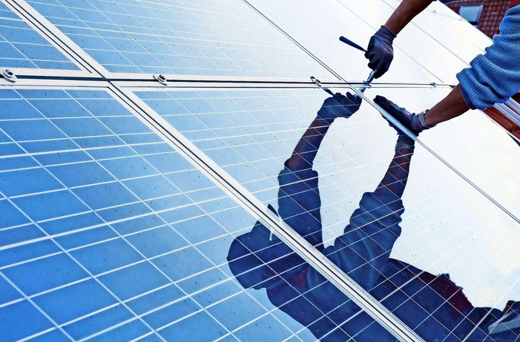 Damit die Europazentrale von Lapp umweltfreundlich ist, sind verschiedene Maßnahmen ergriffen worden wie Förderung von E-Mobilität und Fotovoltaik. Foto: