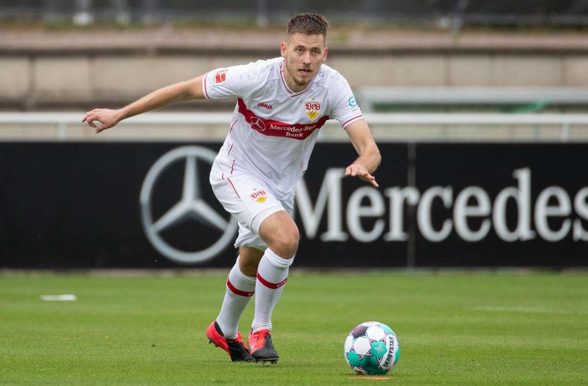 Waldemar Anton will beim VfB Stuttgart durchstarten. Foto: dpa/Tom Weller