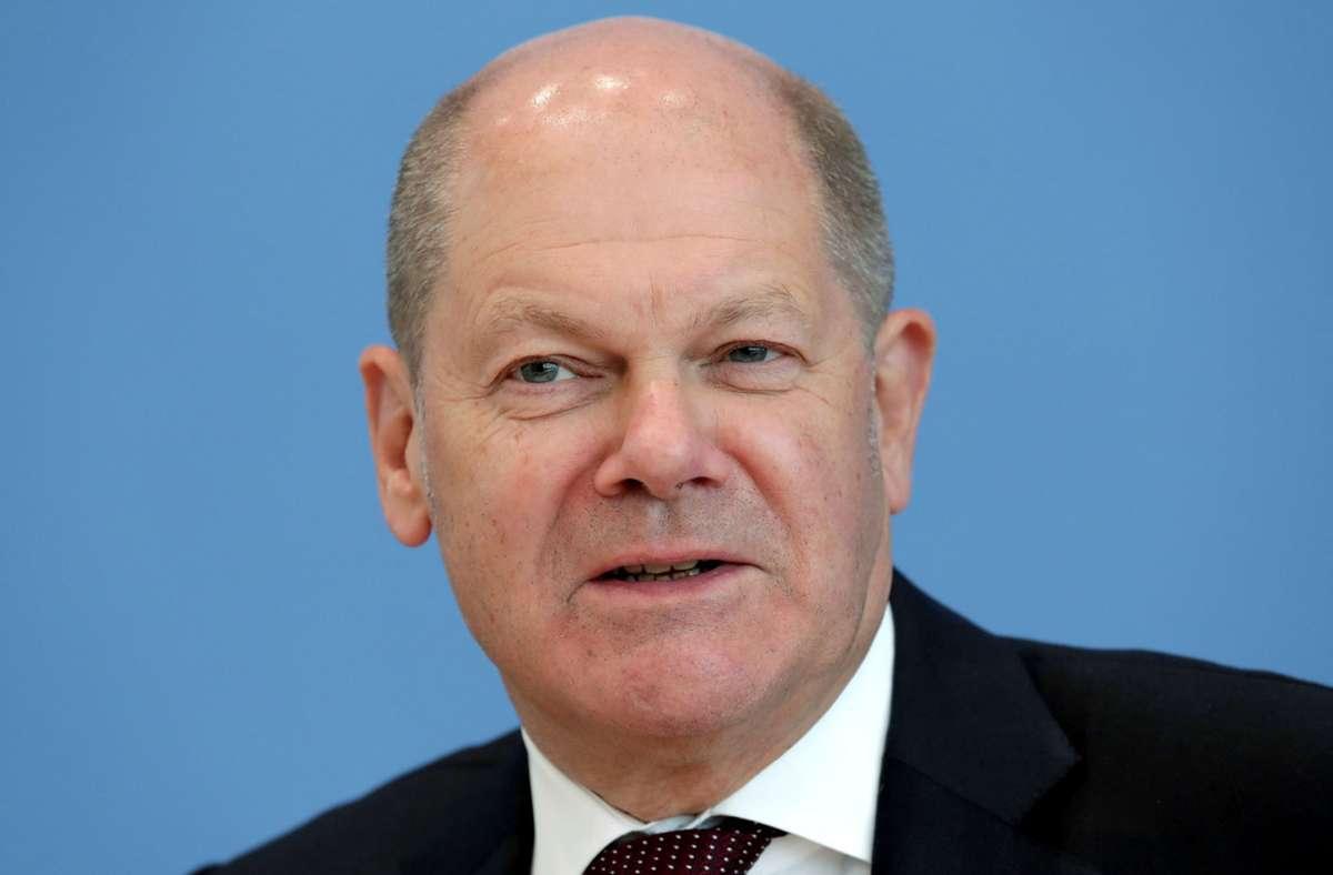 Olaf Scholz tritt als Kanzlerkandidat für die SPD an. Foto: AFP/MICHAEL SOHN