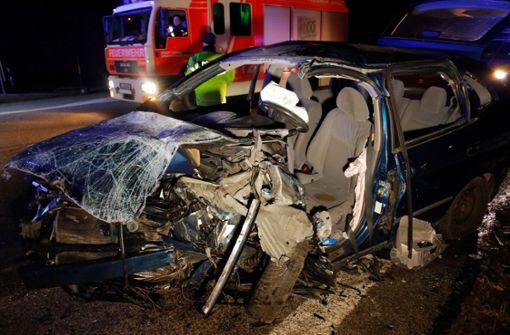 Zwei Tote bei Unfall mit Geisterfahrer