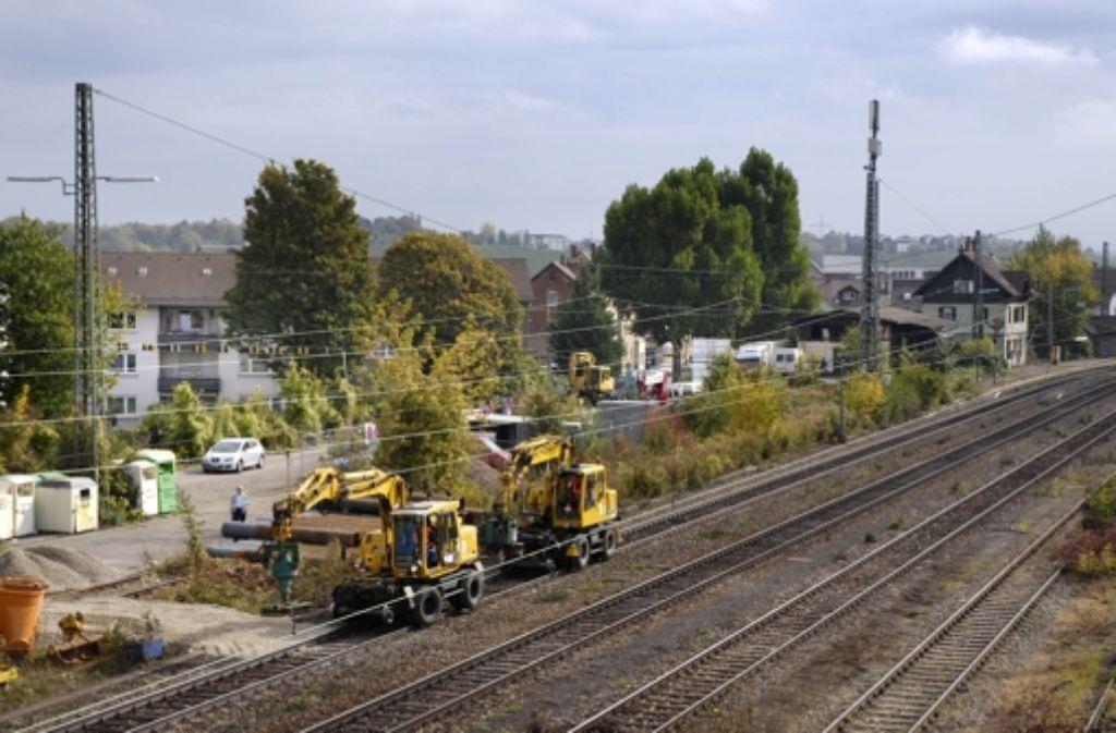 Die Bahn will prüfen, ob auf bis dato unbenutzten Gleisen am Bahnhof Münster, Züge abgestellt werden können. Foto: Archiv