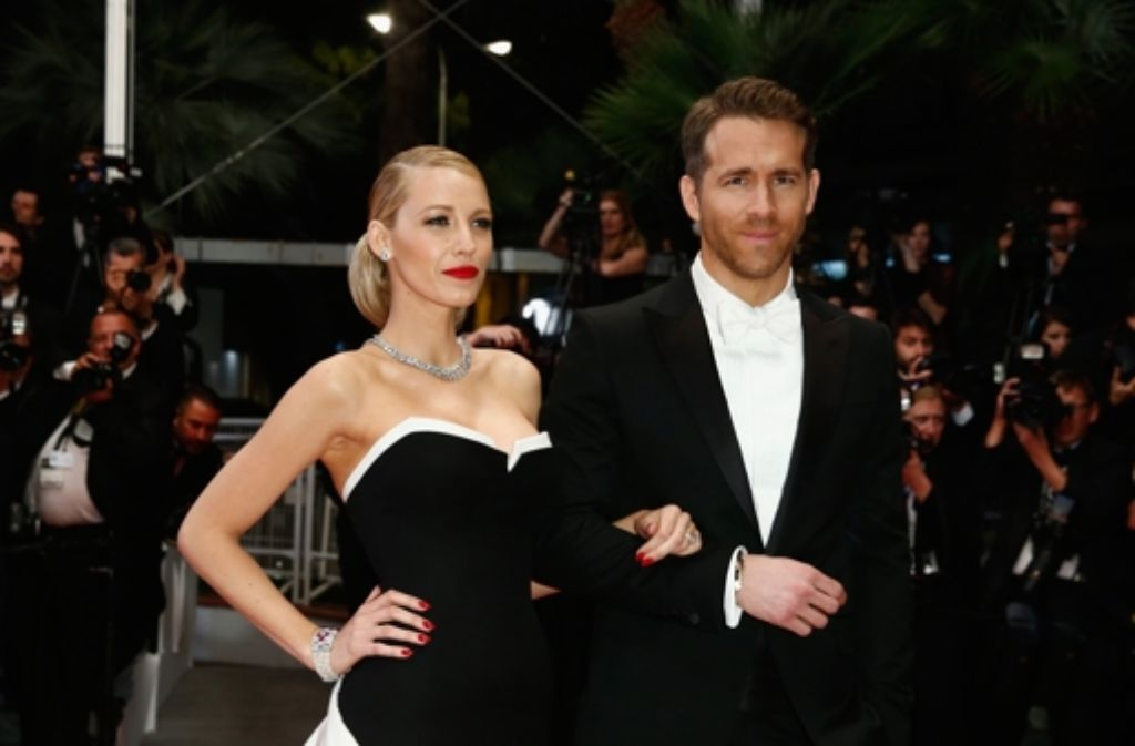Glamourpaar in Cannes: Blake Lively und Ryan Reynolds. Foto: Getty Images Europe