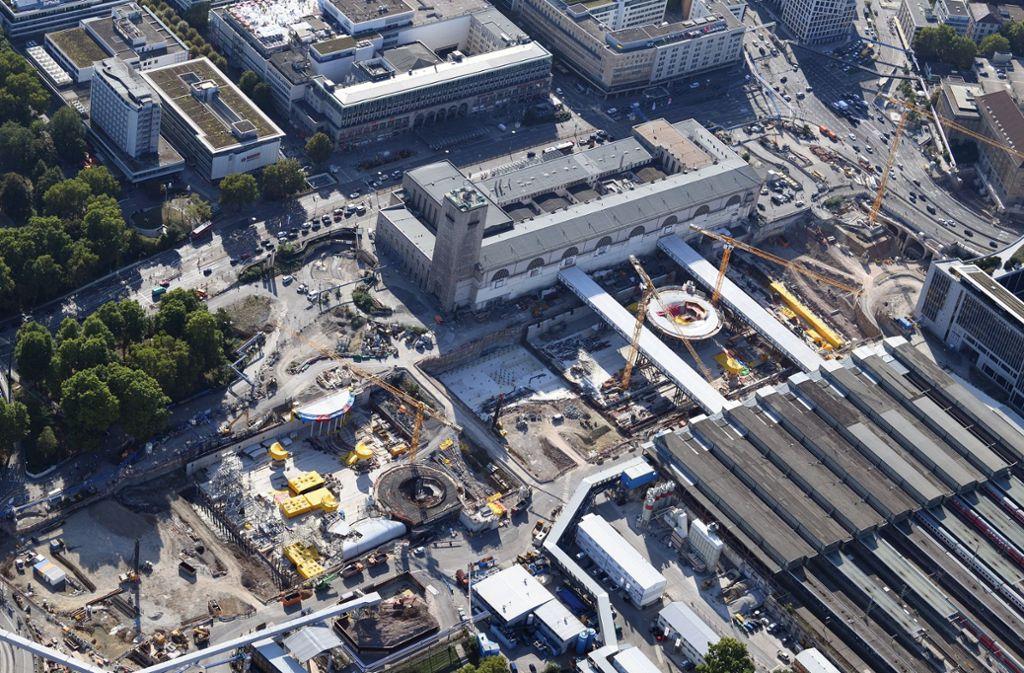 Der grüne Oberbürgermeister von Stuttgart, Fritz Kuhn, fordert mehr Tempo beim Bau des neuen Hauptbahnhofs in der Landeshauptstadt. (Symbolbild) Foto: dpa