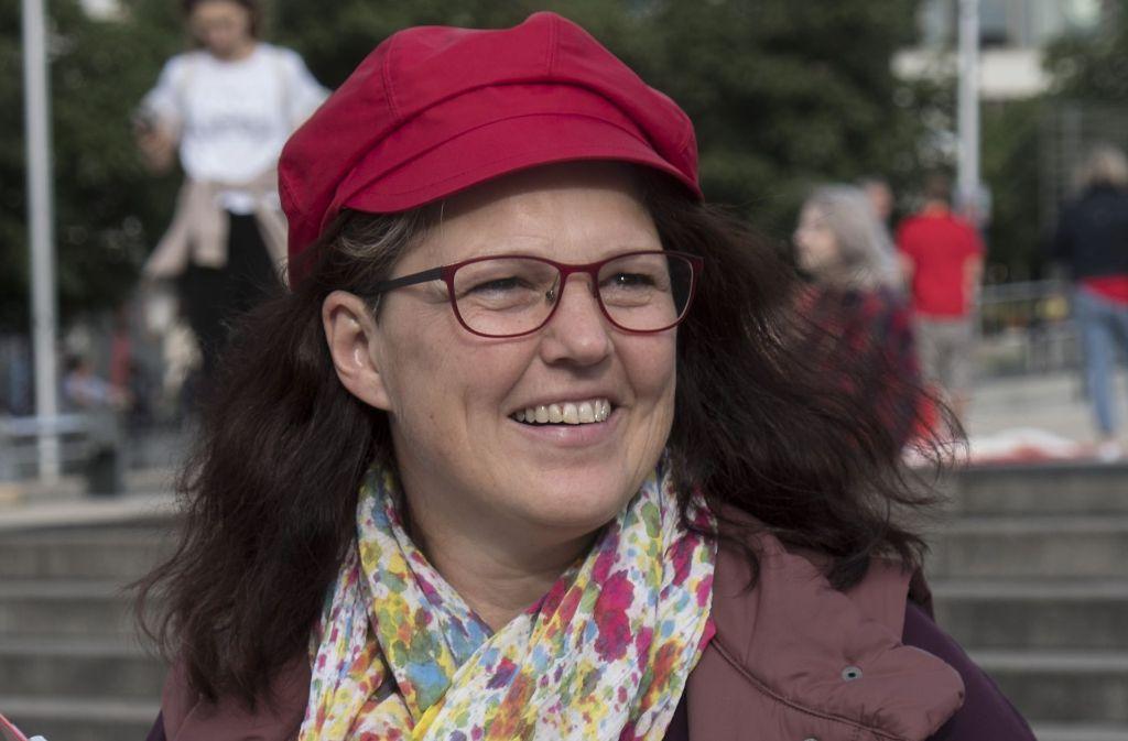 Im Wahlkampf noch zuversichtlich, nach der Wahl vom schlechten Abschneiden überrascht: Ute Vogt, von der SPD. Foto: Lichtgut/Michael Latz