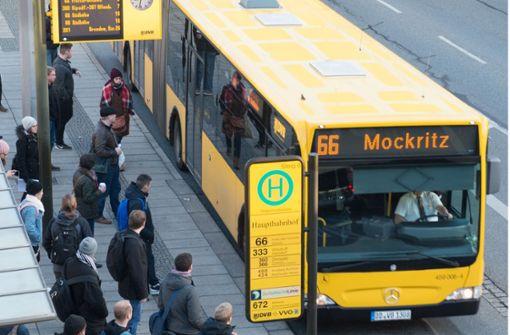Verkehrsbetriebe Dresden schließen Busfahrer aus