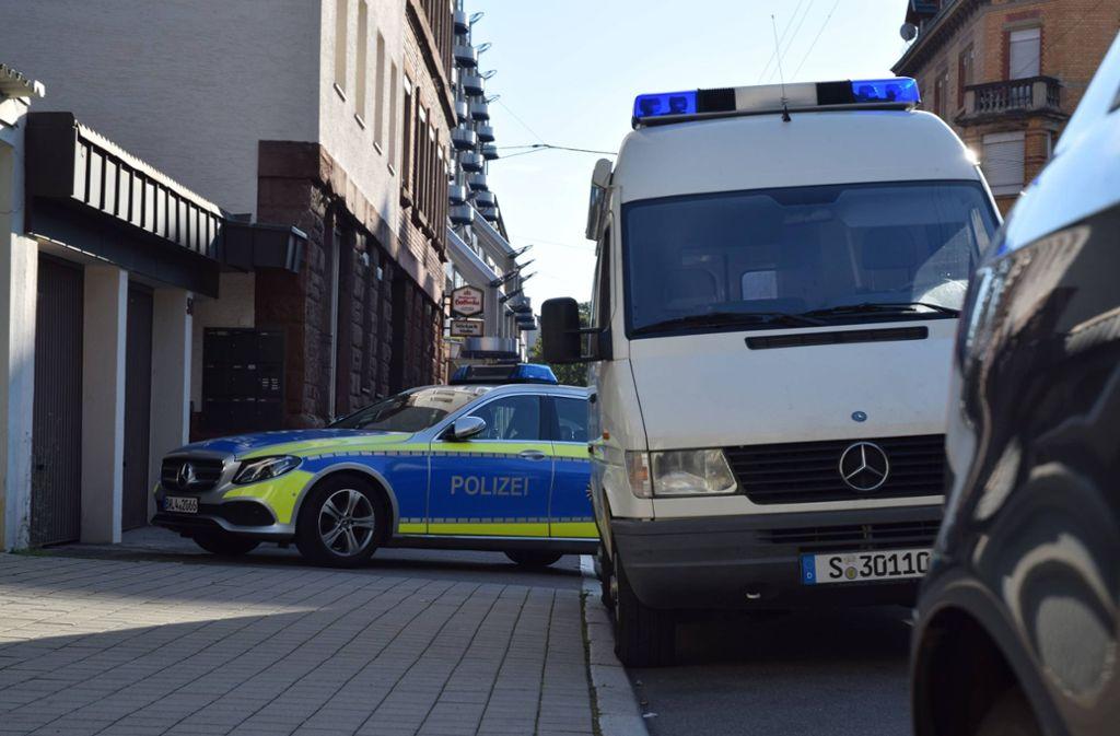 Ein Wohnhaus an der Stöckachstraße (links) ist erneut zum Tatort geworden. Foto: 7aktuell.de/Sven Franz