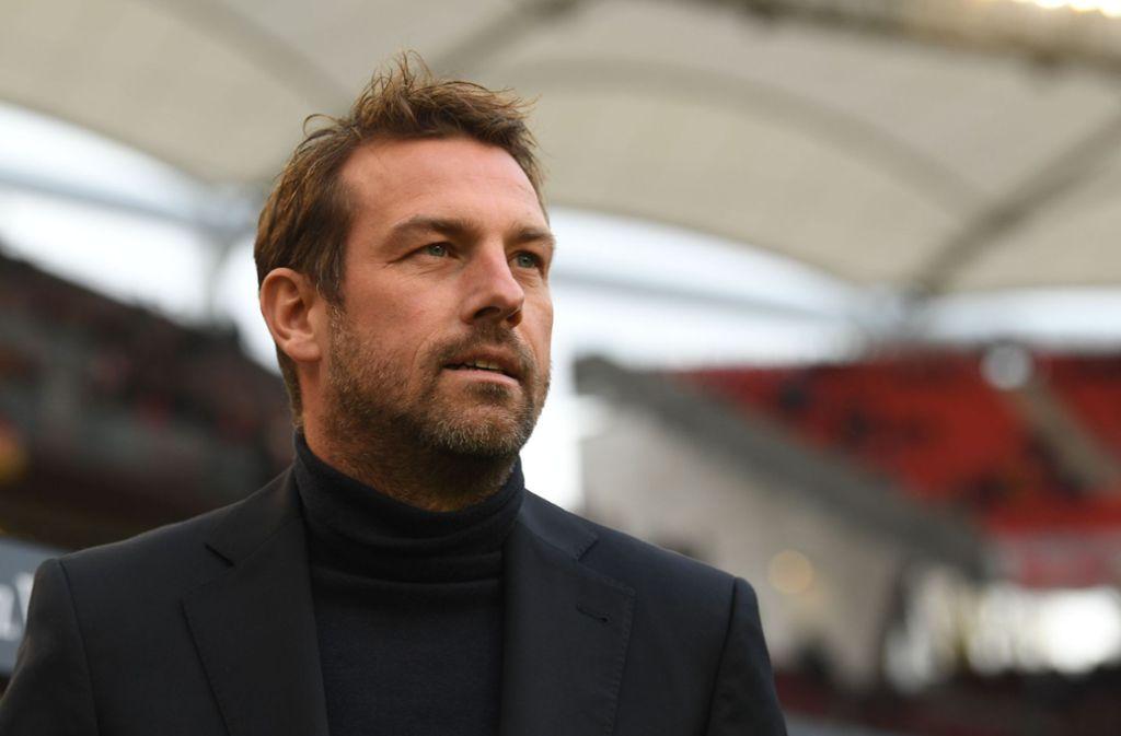 Markus Weinzierl und der VfB Stuttgart reisen am Wochenende zu Borussia Mönchengladbach. Foto: dpa