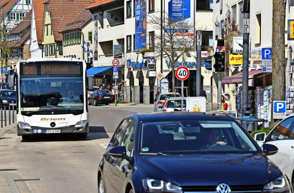 Mehrere lokale Buslinien in L.-E. und Filderstadt sollen Ende 2018 verändert werden. Foto: Norbert J. Leven
