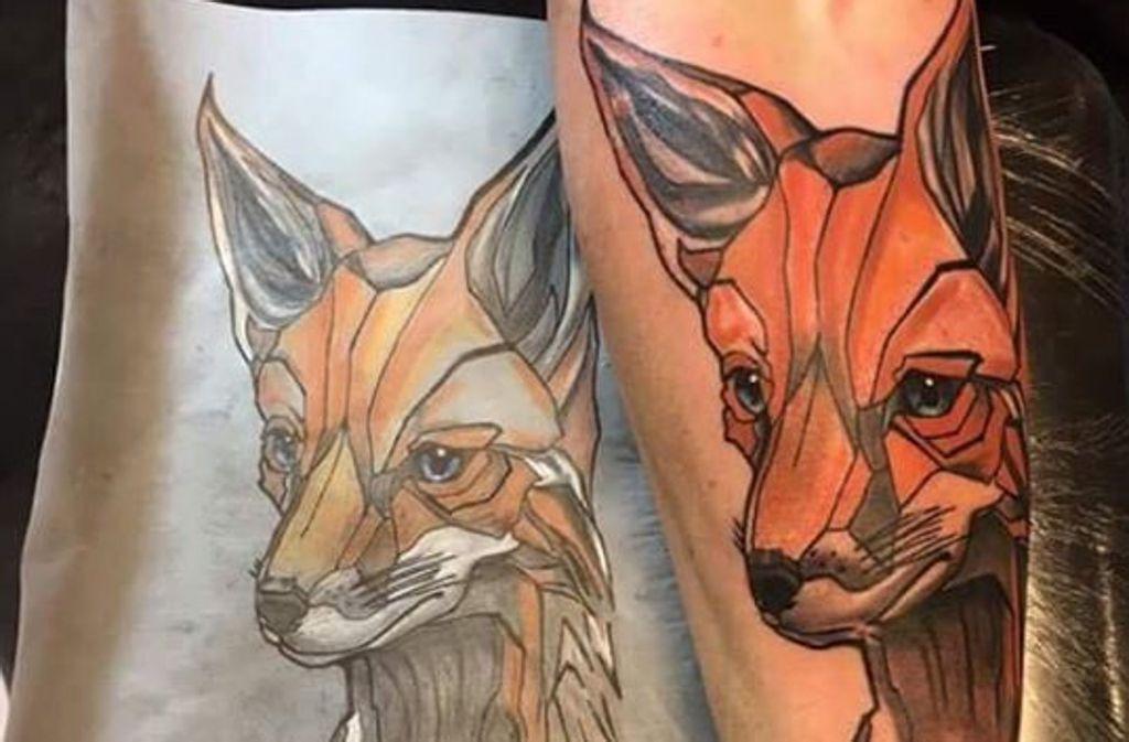 Vom Blatt auf die Haut – Tattoos sind Trend. Foto: Zeitlos#1 Tattoos Stuttgart