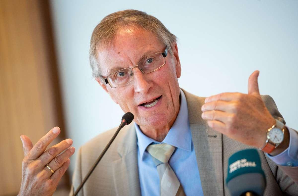 Der Böblinger Landrat Roland Bernhard ist in der Talkshow von Markus Lanz zu Gast gewesen. Foto: dpa