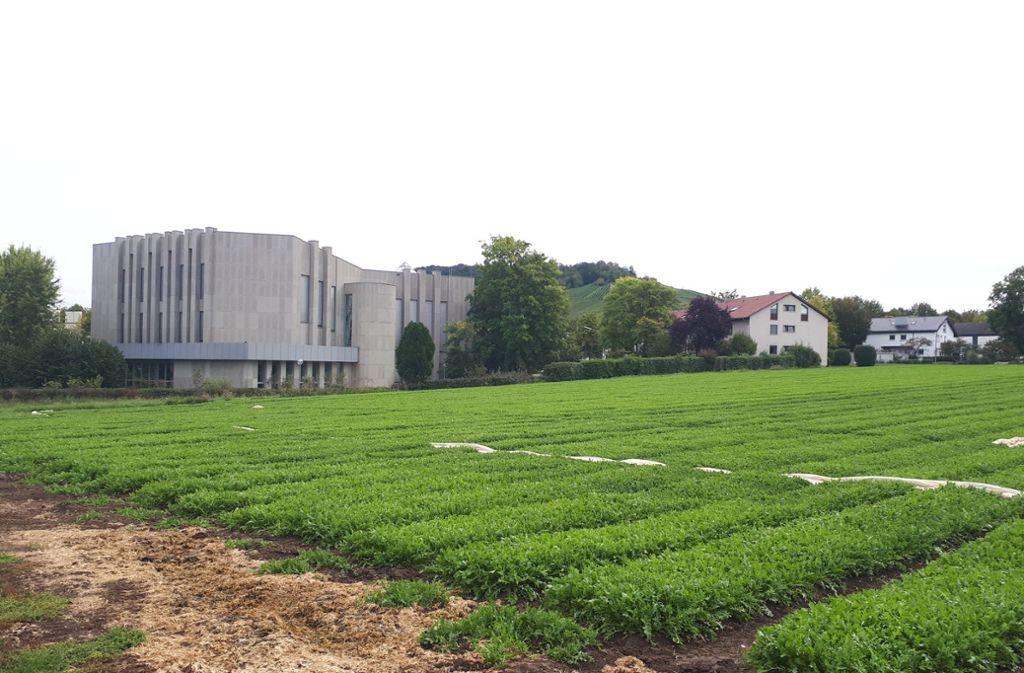 """Insgesamt drei Areale bilden zusammen das Großprojekt """"Wohnen Süd"""" in Fellbach. Foto: Dirk Herrmann"""