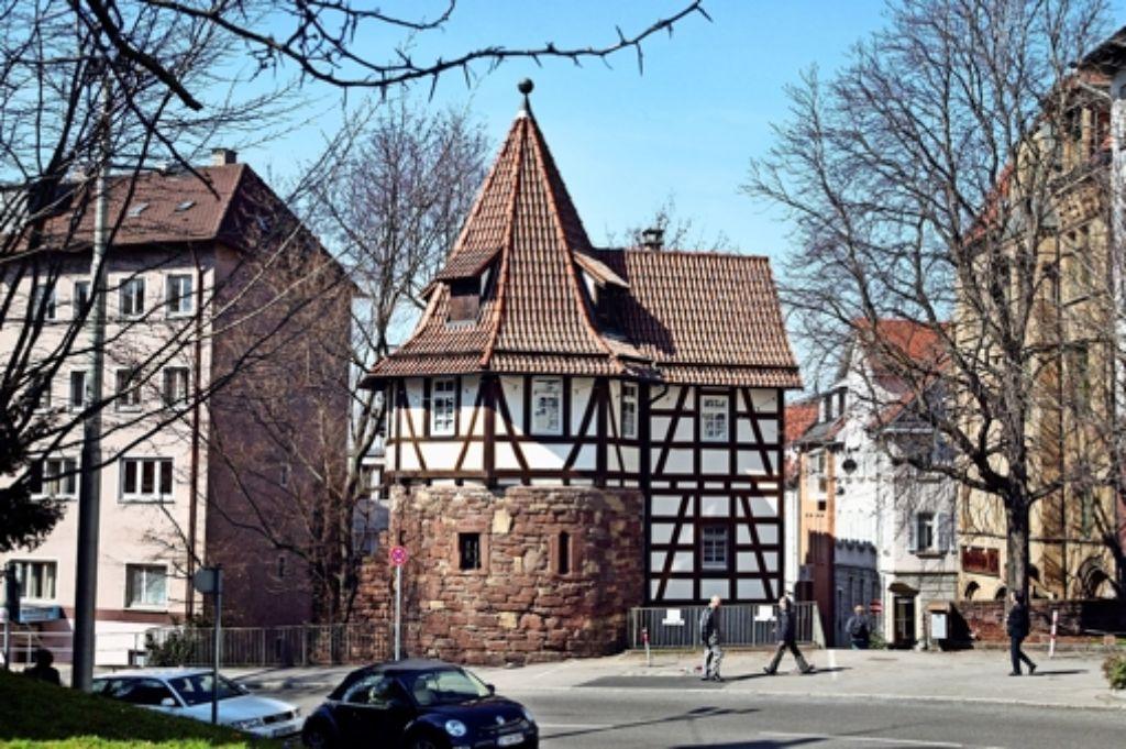 An der Katharinenstraße sind die Besitzer einen ganzen Häuserreihe gleichsam doppelt bestraft. Sie zahlen zweimal. Foto: Michael Steiner