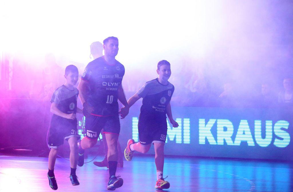 """Zum ersten Mal in der Bietigheimer EgeTrans-Arena am Ball: Michael """"Mimi"""" Kraus. Foto: Baumann"""
