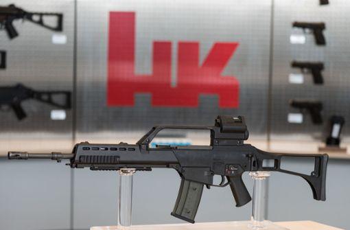 Waffenhersteller kämpft weiter mit Verlusten