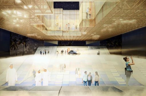 Baden-Württemberg-Pavillon kostet Land knapp 12 Millionen Euro