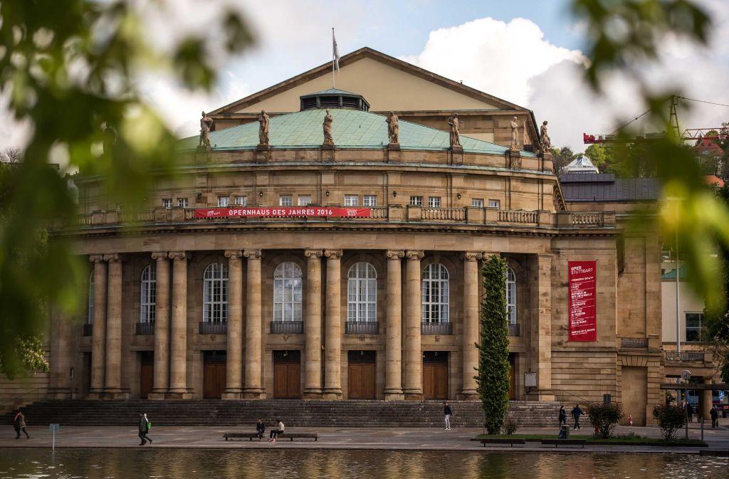 Die Stuttgarter Oper ist sanierungsbedürftig. Die Stuttgarter Oper und drei mögliche Ersatzspielstätten Foto: Lichtgut/Max Kovalenko