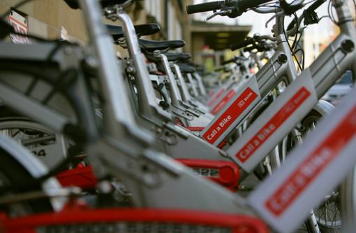 So werden Leihfahrräder in Stuttgart genutzt