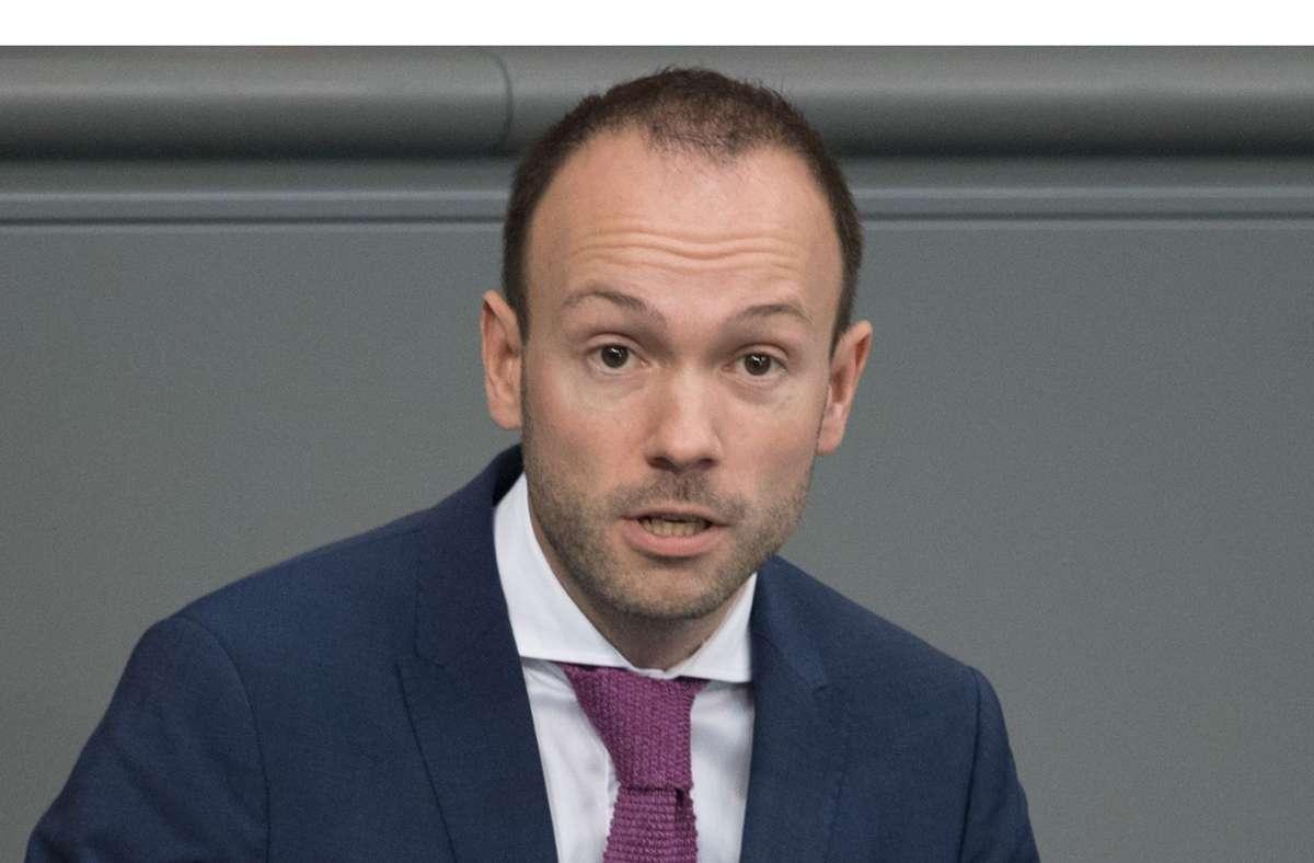 Nikolas Löbel aus Mannheim saß für die CDU im Bundestag. (Archivbild) Foto: dpa/Jörg Carstensen