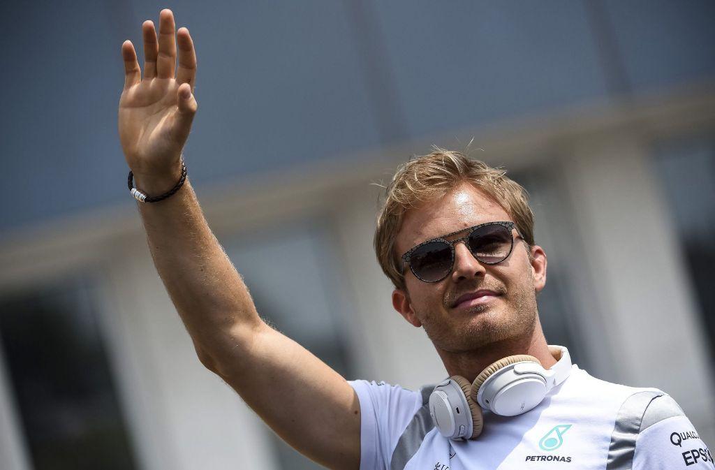 Nico Rosberg sagt Tschüss. Foto: dpa