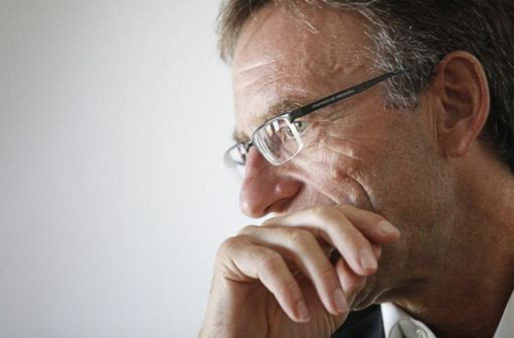 Verwaltungsbürgermeister Werner Wölfle gerät wegen einer SMS in Bedrängnis. Foto: Wagner