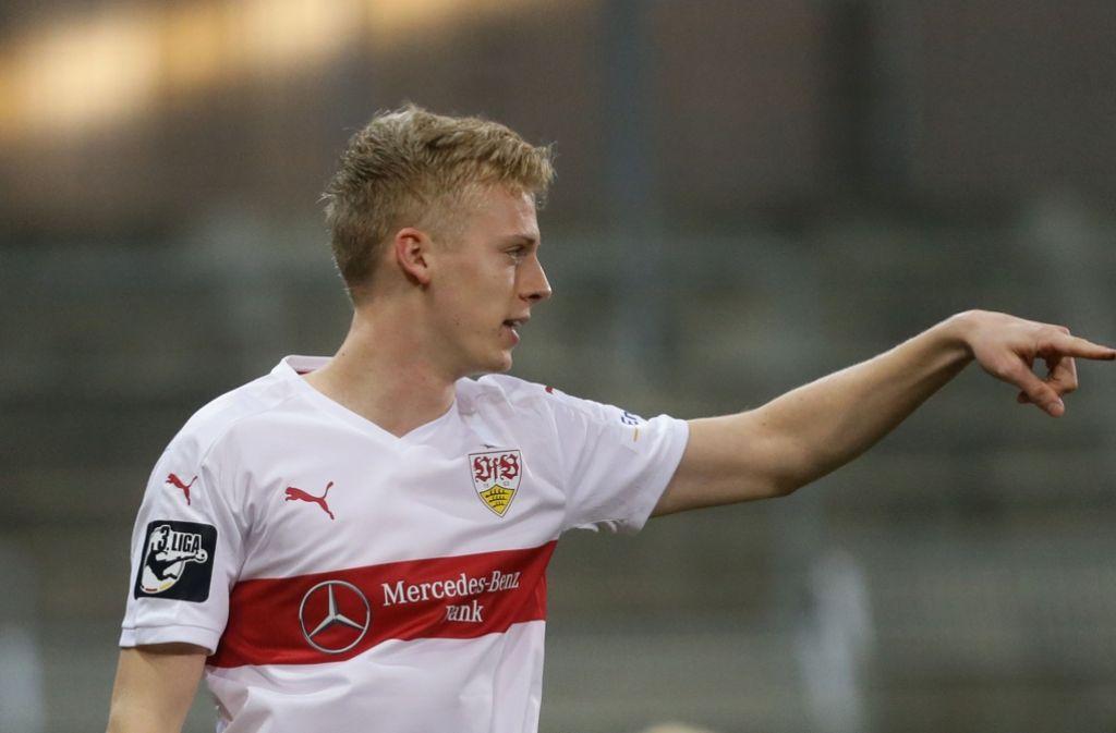 Verletzungsbedingt bestritt Baumgartl in der vergangenen Runde nur 19 Bundesligaspiele für den VfB Foto: Baumann