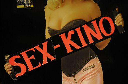 Polizei schließt Erotikshop