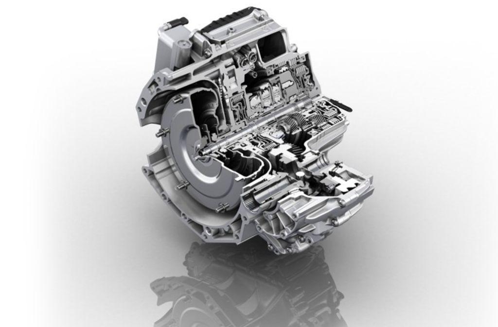Seit 2013 am Markt: Das 9-Gang-Automatikgetriebe 9HP von ZF Foto: ZF