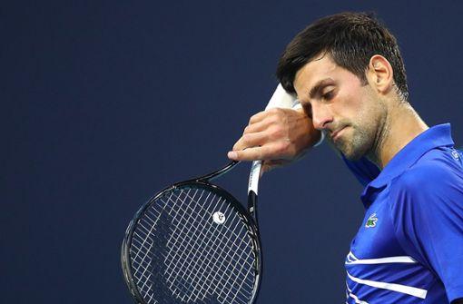 Novak Djokovic scheitert erneut früh