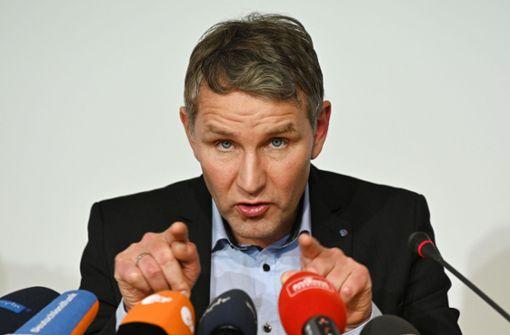 AfD-Chef Höcke kandidiert bei Ministerpräsidentenwahl