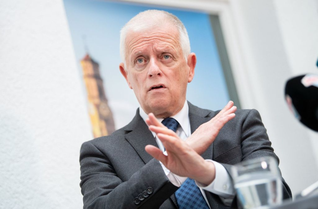 Der Rathauschef Fritz Kuhn polarisiert – manche sind nicht unglücklich darüber, dass er zur OB-Wahl nicht wieder antreten will. Foto: dpa/Tom Weller