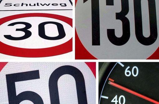 Wissen Sie, wie schnell Sie fahren dürfen?