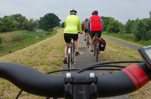 Auf den Friedhof oder aufs Fahrrad