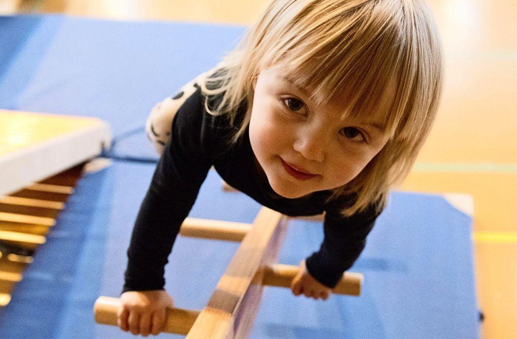 Wegen der Sperrung der Hegel-Halle turnt manches Kind nicht mehr beim SVV, sondern in einem anderen Verein. Foto: dpa/Andrea Warnecke