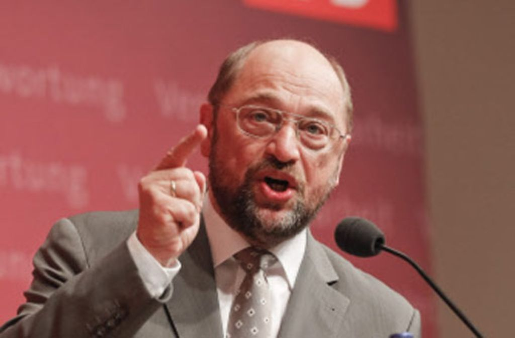 Die Nationalstaaten hätten angesichts der Krise versagt, sagt Martin Schulz. Foto: dpa