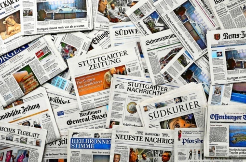 Im Tarifkonflikt der Zeitungsredakteure wollen am Donnerstag und Freitag erneut Hunderte Journalisten aus dem Südwesten die Arbeit niederlegen. Foto: dpa/Symbolfoto