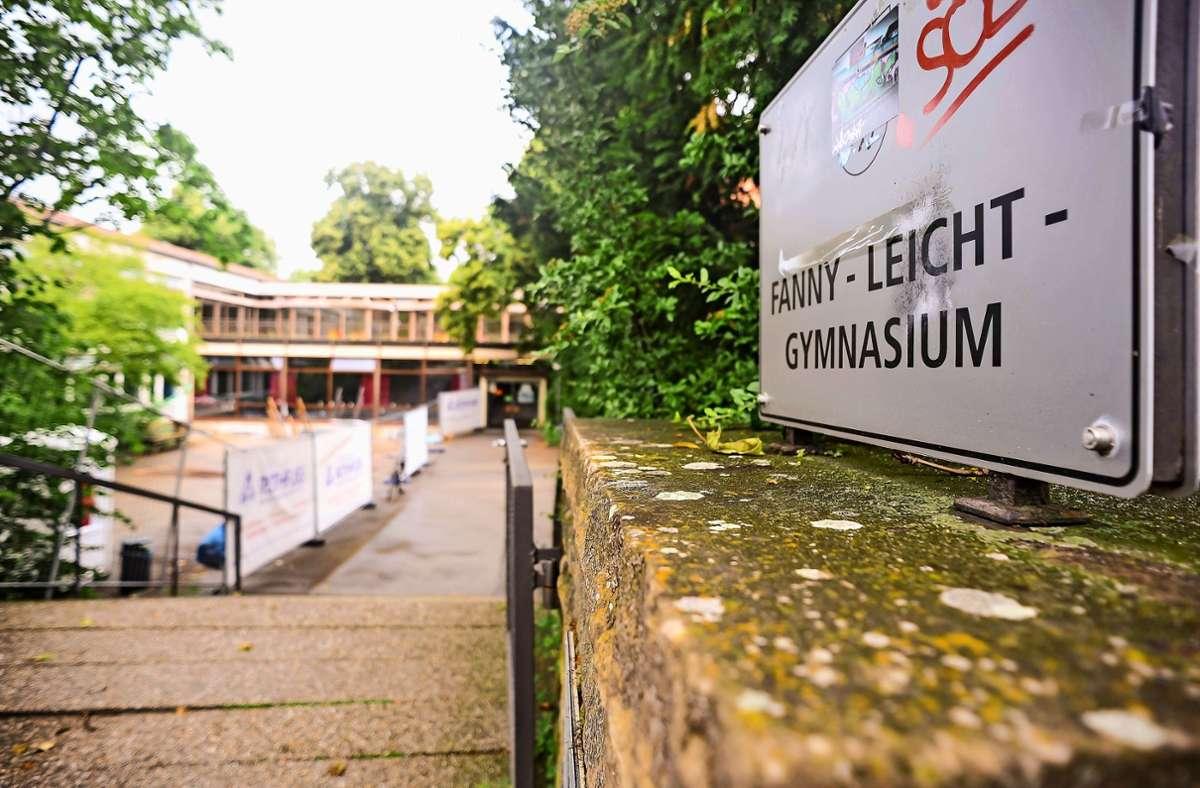 Das Vaihinger Fanny-Leicht-Gymnasium ist marode und es hapert am Internetempfang. Bald soll die Schule aber ans Glasfasernetz. Foto: Lichtgut/Max Kovalenko