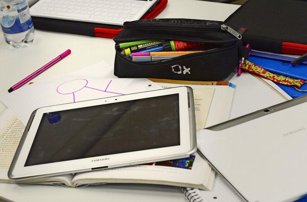 Noch sind Tablets an Stuttgarter Schulen Mangelware. Foto: dpa