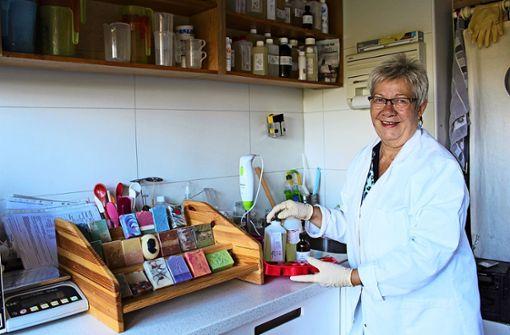 In der Seifenküche wird Nachhaltigkeit gelebt