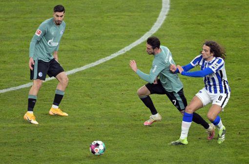 Kein Wunder unter Gross: Schalke 04 verliert 0:3 bei Hertha BSC