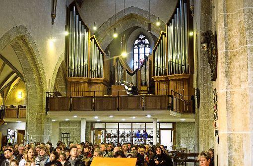 Ein Blitzschlag zerstörte einst  die alte Oechslin-Orgel