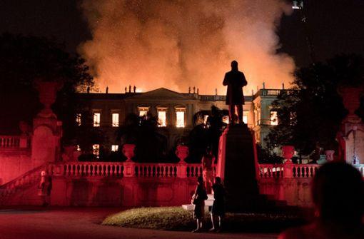 Großbrand zerstört weite Teile des brasilianischen Nationalmuseums