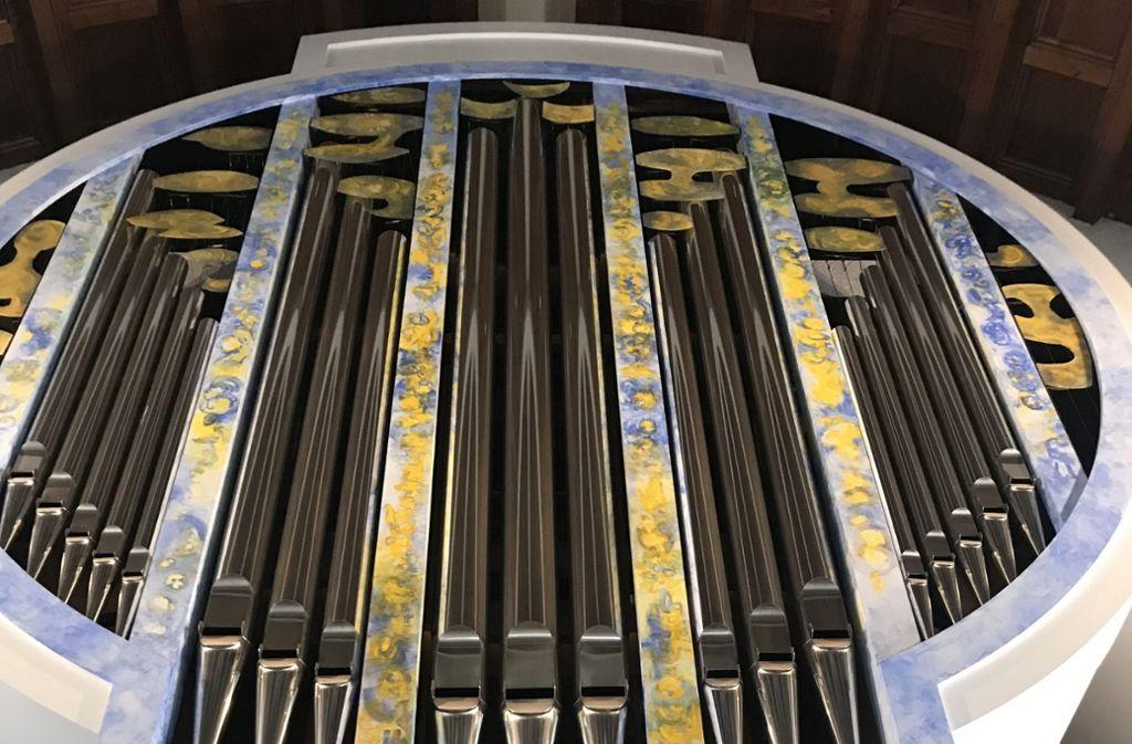 Die 2005 erbaute Orgel soll nach der Wiedereröffnung noch mehr können Foto: Haar