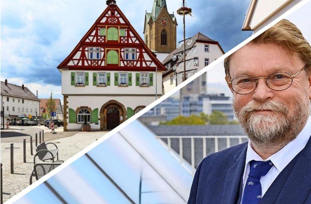 Uwe Lahl will im Streit zwischen der Hesse-Bahn und Renningen vermitteln. Foto: /factum/Simon Granville, Verkehrsministerium